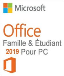 Office famille et étudiant 2019 (PC)